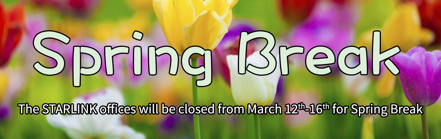 2018 Spring Break Banner Image